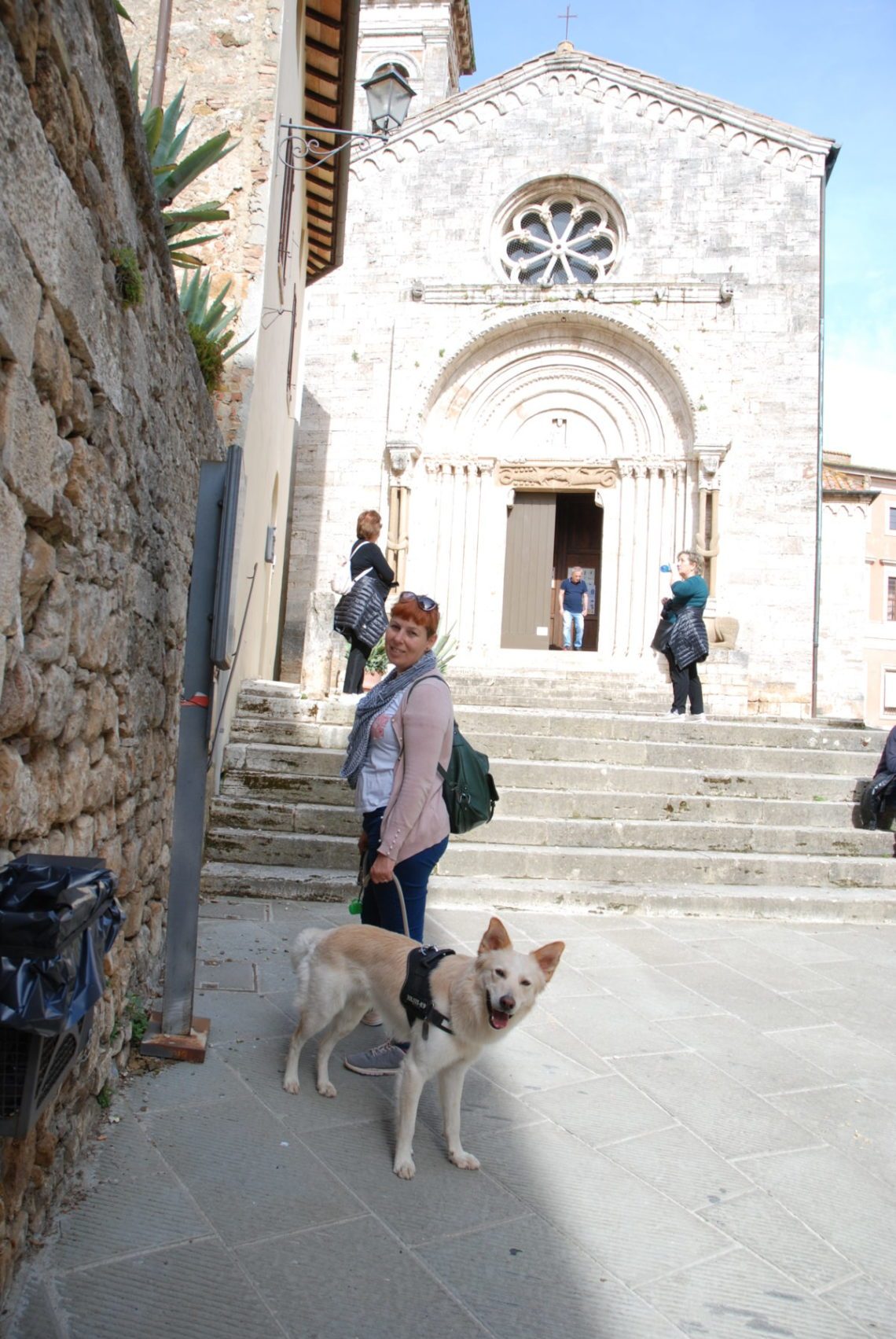 Anna e Willy a San Quirico D'Orcia
